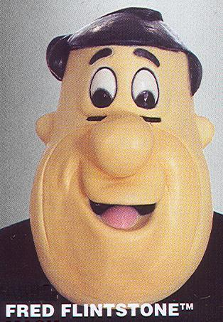 FRED FLINTSTONE LATEX CHARACTER MASK