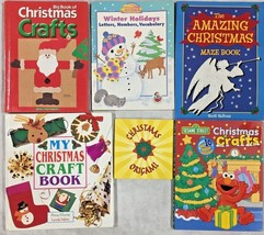 Christmas Activity and Craft Books- Children's Lot of 6-Homeschool Lot  - $11.30