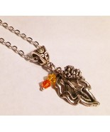Pine Cone Leaf  Tibetan Silver Charm Necklace 2... - $14.99