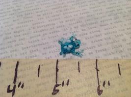 Micro Miniature Glass Animal Frogs Handmade Blown Glass Collectible USA image 4
