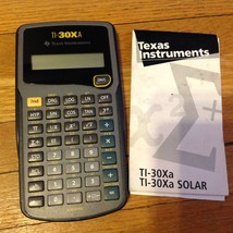 Texas Instruments Scientific Calculator TI-30XA - $6.90