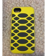 Apple iPhone 5s BoxWave HybridCell 2 Layer Silicone Case Yellow & Gray - $6.49