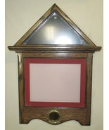 Oak Flag Document Certificate Wall Display 3x5 Flag, Matted Landscape Frame USA - $89.50