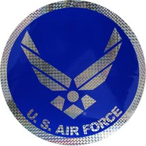 U.S Air Force Hap Arnold Wings 12 Inch Prism Decal - $9.89