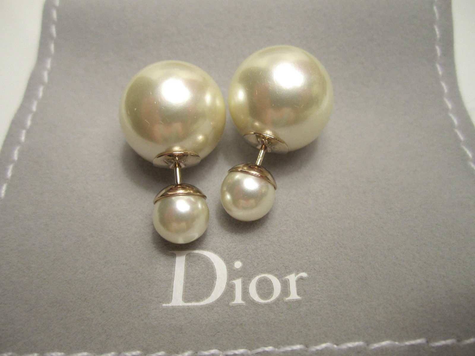 Authentic Christian Dior Mise En Dior Tribal CLASSIC Earrings