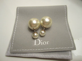 Authentic Christian Dior Mise En Dior Tribal CLASSIC Earrings image 2