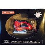 Craftsman ~ Laser Trac 2 in 1 Jig Saw [2007 Christmas Collectible Minatu... - $38.56