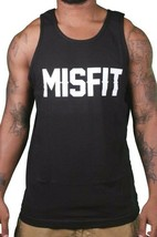 SSUR Russ Kalabrin New York Hombre Negro Misfit Tanque Top Camiseta Músculos Nwt image 1