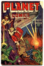 Planet #68 1952-Fiction House-spicy art-Mysto-Star Pirate-Lost World - $203.70
