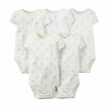 Carter's Baby Girls 5-pc. Printed Bodysuits - Ivory, 12 months - $16.00