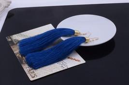 LZHLQ Vintage Ethnic Long Tassel Earrings Women 2020 Fashion Brand Jewel... - $15.24