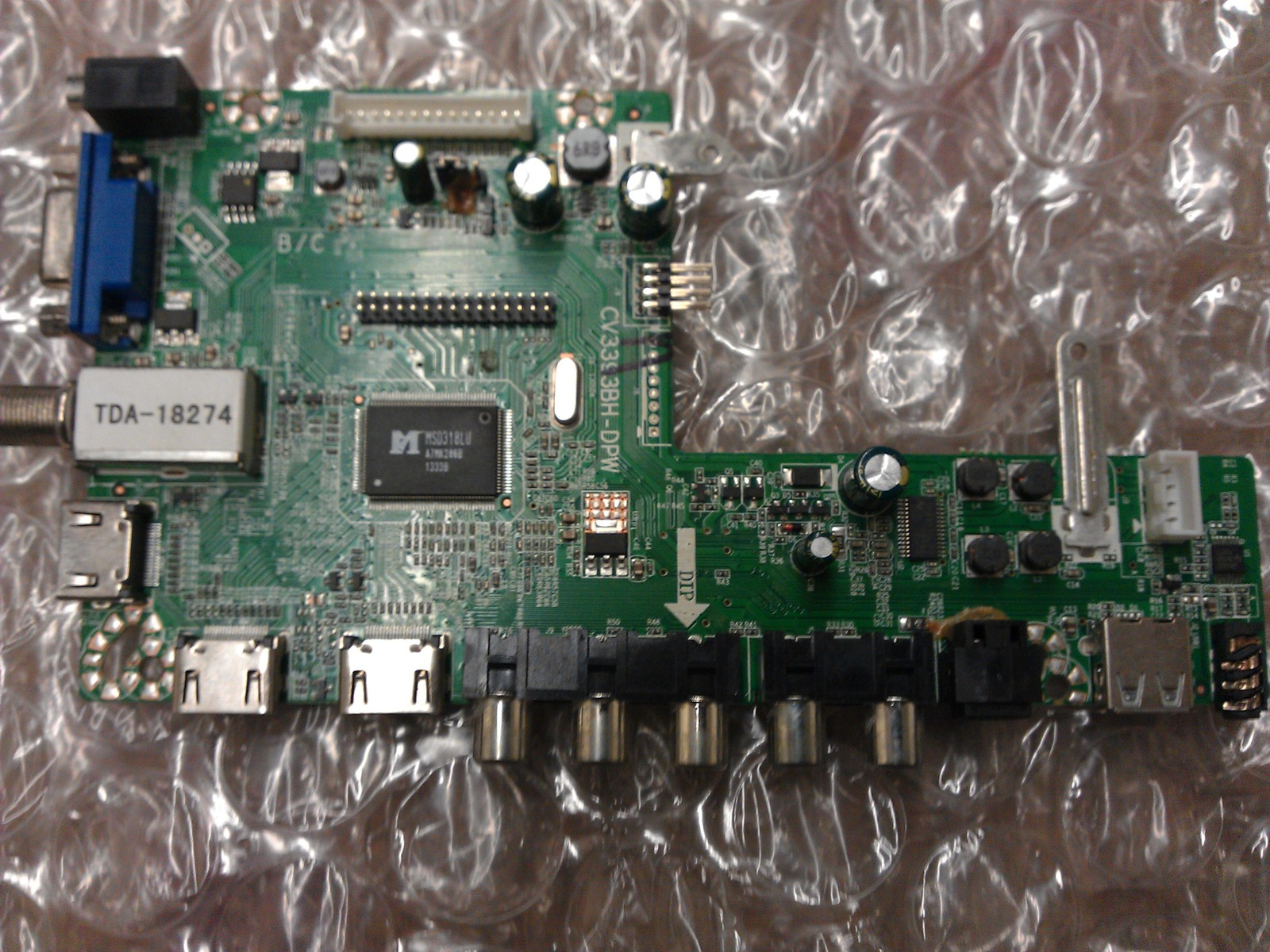 SMT130618 Main Board From Insignia NS-40D40SNA14 LCD TV