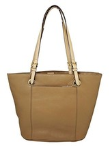 Michael Kors Jet Set Item Genuine Leather Large Tote Shoulder Handbag Purse - $385.00