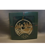 Lenox China 6 Geese A Laying 12 Days of Xmas Ornament Partridge Pear Tre... - $80.00