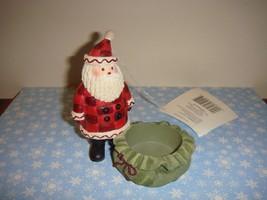 Hallmark Santa Color Studio Tea Light Candle Holder - $13.49