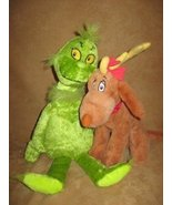 Dr. Seuss THE GRINCH AND MAX Plush - $34.29