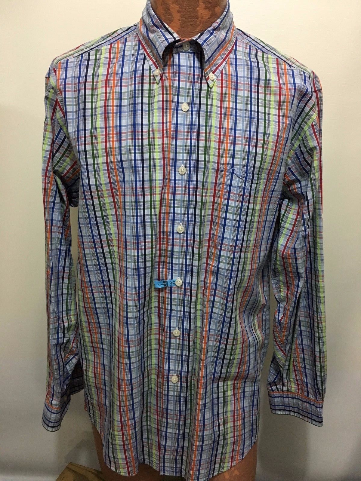 Brooks Brothers M Multi Color Plaid Stripes And 17 Similar Items