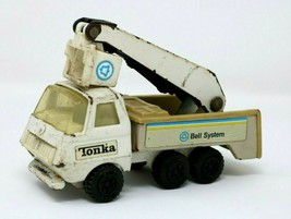 "Vintage Tonka #55010 Press Steel Bell System 5 1/2"" Bucket Truck - $9.87"