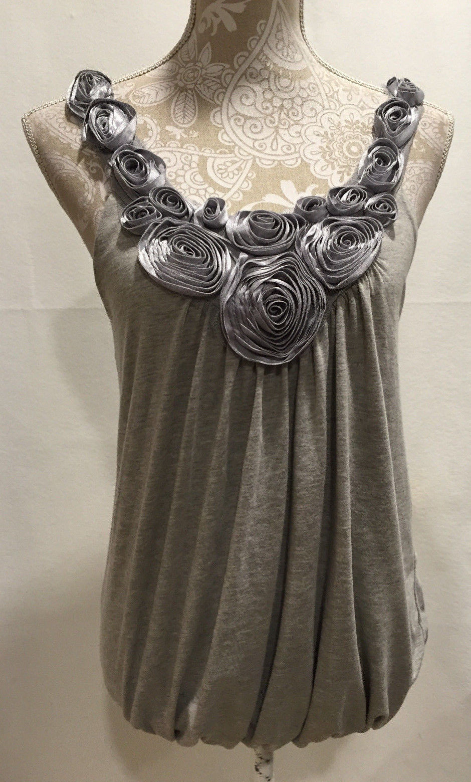82fa305f7f5 Anthropologie Kimchi Blue Casual Gray Floral and 50 similar items