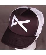Vtg Skater Trucker Hat-Black-Snapback-I don't know this brand, help me i... - $20.56