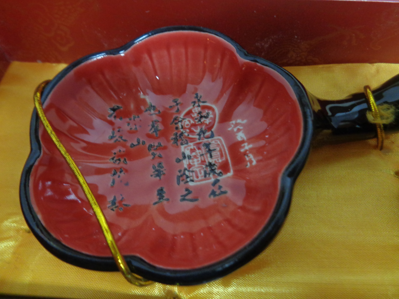 Asian Chopsticks Sauce Bowls NIB Set For Two