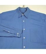 Boss Hugo Boss Men's Blue Dress Shirt 15 34/35 - $18.98