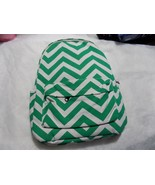 Girls Chevron-Pattern Backpack with Back-to-School Essentials - Green - $29.02