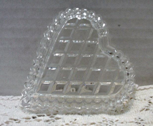 Vintage INDIANA GLASS Card Suite Nut/Candy Dishes // Glass Barware