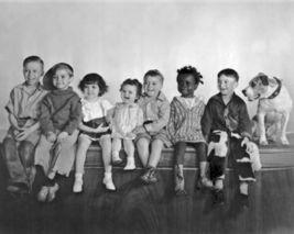 Little Rascals Cast HS Vintage 8X10 BW Comedy TV Memorabilia Photo - $6.99
