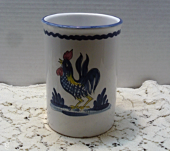 Vintage LILLIAN VERNON Made In Italy ROOSTER Utensil Jar Holder // Kitch... - $15.00