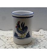 Vintage LILLIAN VERNON Made In Italy ROOSTER Utensil Jar Holder // Kitch... - $15.00