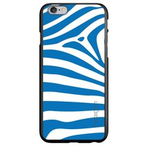 "CUSTOM Black Spigen ThinFit Case for Apple iPhone 6 (4.7"") - Blue & Whit... - $24.73"