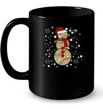 DABBING BASEBALL SNOWMAN  Christmas Funny Ceramic Mug Dab Ball - $13.99+