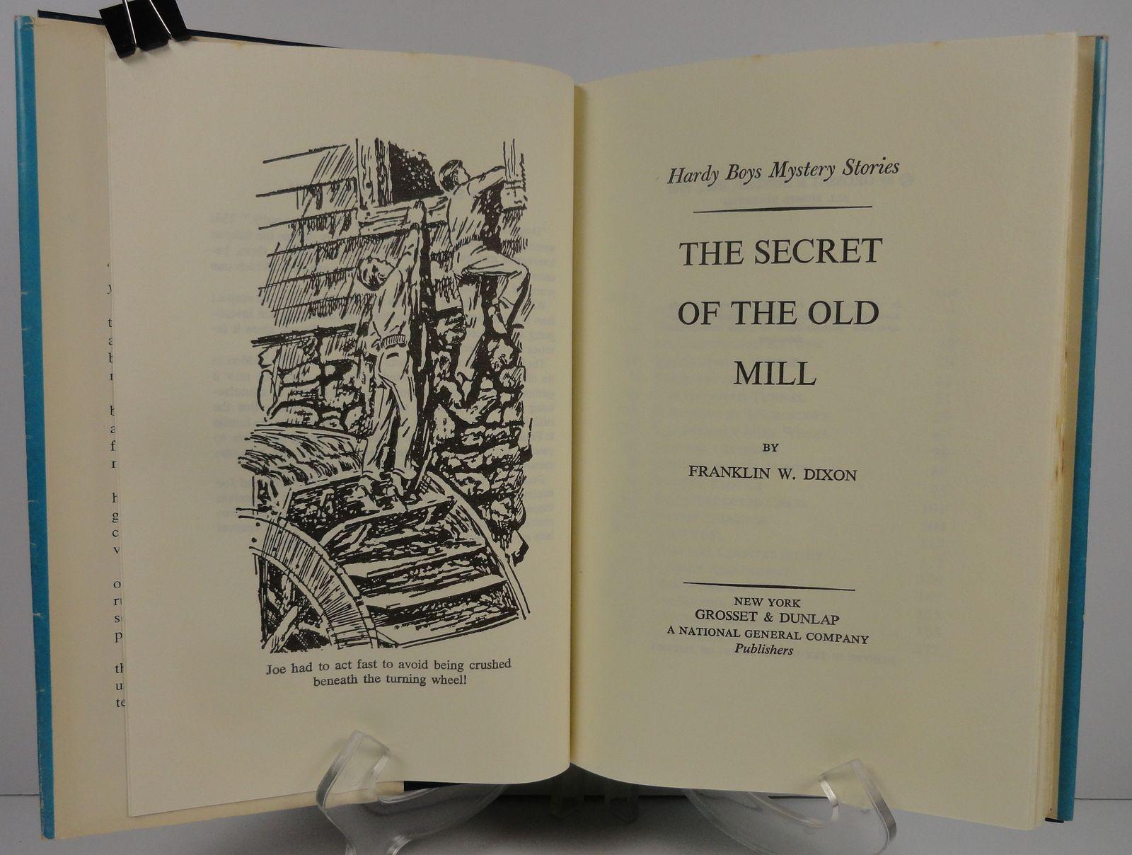 Hardy Boys The Secret of the Old Mill Franklin W. Dixon HCDJ