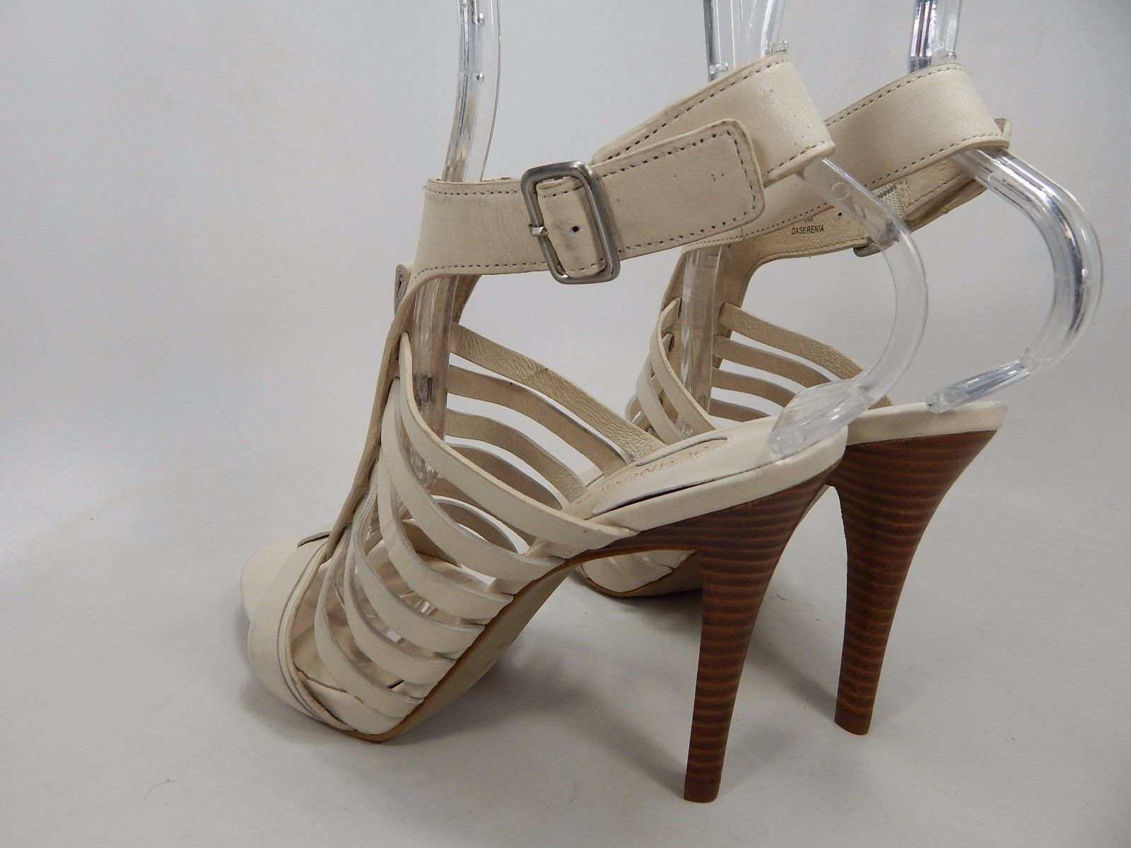 Joan & David Daserenia Open Toe High Heels Sandals Women's Size US 6 Ivory