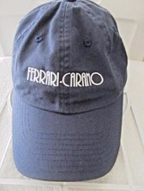 American Needle FERRARI CARANO Dark Blue Adj Baseball Cap Hat! 100% Cotton! - $28.01