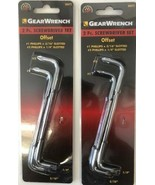 Gearwrench 80072 2 Piece Offset Screwdriver Set #1 & #2 Phillips Slotted - $4.46