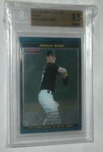 2002 Bowman Chrome Draft #59 Jeremy Roseau Baseball Carte Beckett 9.5 Ge... - $26.87
