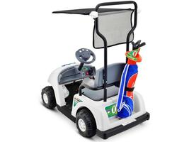 Junior Golf Cart Pro Ride On Battery Operated 6 Volt Max 5 MPH Kid's Ages 3 to 5 image 2