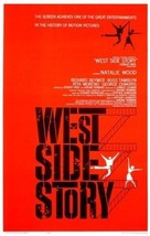 WEST SIDE STORY MOVIE POSTER Natalie Wood  24X36    Rita Moreno  Richar... - $22.00