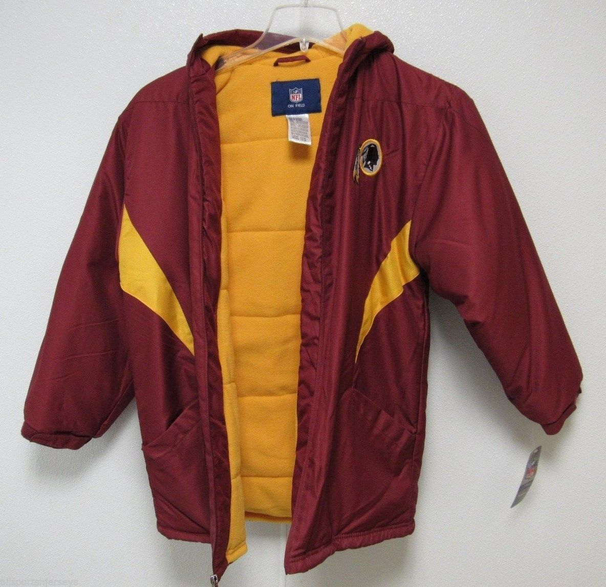 3c69ebcc Nwt Nfl Washington Redskins Sideline Jacket and 50 similar items