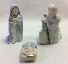 Sacred Family Set of 3 Pieces, Porcelain, Russ Brand - $10.75