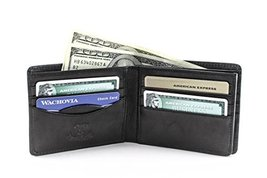 Wallet Tony Perotti Mens Italian Cow Leather Personalized Initials Embos... - $0.00