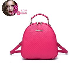 Mixed Color Girl's Backpacks Fashion New Bookbags,Leather Backpacks N136-9 - $36.99