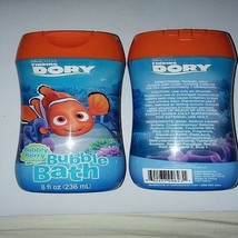 Finding Dory Bubble Bath Bubbly Berry Scent Disney Pixar Swim Dory Set of 2 - $9.89