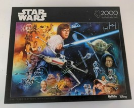 Star Wars The Force Will Be With You  2000 Piece Jigsaw Puzzle Buffalo Games  - $23.99