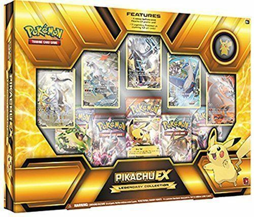 Pikachu EX Legendary Collection + Mega Blaziken EX Box Pokemon TCG