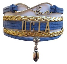 University California Los Angeles UCLA Bruins Fan Shop Infinity Bracelet Jewelry - $12.99