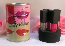New NARS Andy Warhol Lip Gloss Set of 5 Larger Than Life Confetti 11 oz ... - $17.99