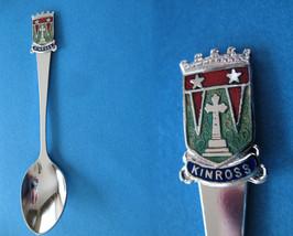 KINROSS Perth SCOTLAND Souvenir Collector Spoon SCOTTISH Collectible - $5.95